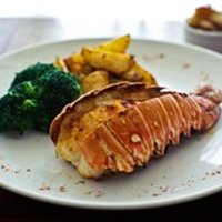 Baked Lobster Tail 的做法